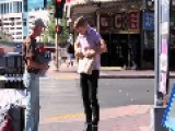 Man Approaches A Homeless Vet And Rips Apart His Sign, But It Ends Well Video