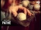 Making Cricket Balls By Hand 1956