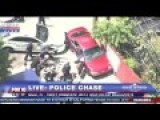 Miami Police Chase Ends With One K9 Biting Anothers Ass