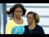 Michelle Obama's Mother Will Get 160K Pension For Caring For Her Grand-kids