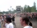 Massive Wall Of Death In A Lamb Of God Concert