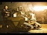 Military Robots In Action - Robot Combat Training During US Marines New Combat Robot Test
