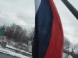 Man In Canada Raises Russian Flag After Turkey Shot Down Russian Jet
