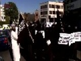Muslim Extremist March In Luton UK 2012