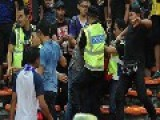 Malaysia Supporters Attack Vietnam Supporters