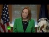 Moment Of Truth - RT Vs US State Dept's Psaki In Simferopol Bullet Dodge