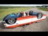 Mechanic Constructs Drivable Upside Down Truck