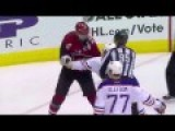 Mark Letestu Fights Martin Hanzal After Big Hit