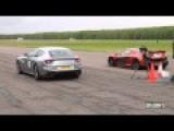 McLaren P1 Vs Ferrari FF Drag Race