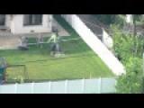 Massive 'Hulk' Statue Interrupts News Station's Flood Coverage