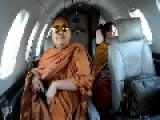 Monks On A Plane - Buddhist Monks Swagged Up & Traveling In Style