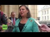 Neocon Prostitute Nuland In Moscow For Ukraine Talks