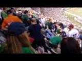 Notre Dame Vs. Syracuse Fan Fight