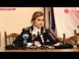 Natalia Poklonskaya's Speech. With English Subtitles
