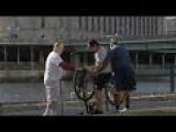 Nuts Stuck In A Bike Prank!