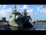 Nato Warships Visiting Rotterdam Harbour