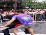 NYC Police Officer Gets Down At Gay Pride Parade
