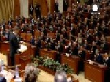 New Romanian President Klaus Iohannis Vows To Tackle Corruption