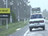 New Zealand Gets So Windy It Blows The Buses Offf The Road