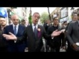Nigel Farage Is In Great Form In The Run Up To Polling Day
