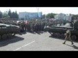 NovoRossiya Army Has A Parade In Perevalsk - Part 2