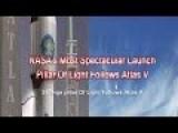 NASA's Most Spectacular Launch - Strange Pillar Of Light Follows Atlas V