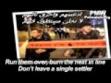 New Palestinian Song Encourage More Run Over Attacks Against Israelis
