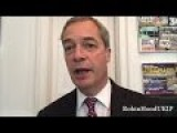 Nigel Farage New Years Message At End Of 2016