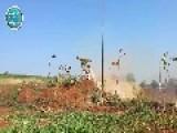 Nusra Front Firing ATGM At A Rocket Launcher Hama