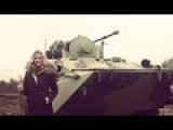 NEW - Russian Beauty Destroying A Forest With BTR 82A