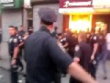 NYPD Fights With Street Vendors = The Vendors Did Not Want To Leave =