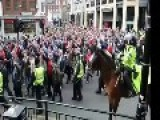 Newcastle Football Fans Rioting Today After Getting Beat In Local Derby