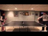Ninja Cat Playing Ping Pong