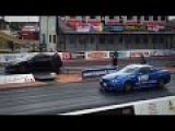 Nissan Skyline GTR R34 1500HP Vs Nissan GTR Drag Race