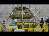 NASA Astronauts Look At New Boeing CST 100 Starliner Trainers