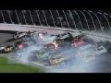 NASCAR - Coke Zero 400 Race - Huge Crash - Fans Injured