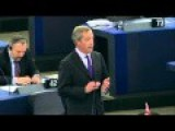 Nigel Farage In EP...Stop Playing Wargames In Ukraine