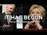 New October Wikileaks Publications Wreck Hillary Clinton's Campaign - The Podesta Email Dump