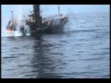 NEW VIDEO FROM BEHIND THE GUN: USCG Anacapa Sinking The Ryou-Un In Gulf Of Alaska