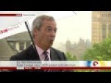 Nigel Farage On 'racist' Poster, MPs Using It For Jo Cox Murder For EuRef 20Jun16