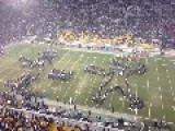 Notre Dame Band Reenacts Dorais To Rockne Famous Pass Play