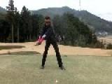 Ninja Golf Shot