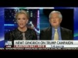 Newt Gingrich EXPLODES At Megyn Kelly Calling Trump A Sexual Predator