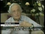 Noam Chomsky Denied Entry Into West Bank By Israel