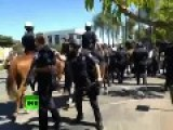 New Wave Of Anaheim Protests: 9 Arrested As Police Disperse Crowds PHOTOS, VIDEO