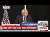 NYT Reporter Asks Sanders If It's Sexist For Him To Continue Running Against Clinton