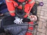 Neonazi Thugs In Ukraine Getting Beaten By Police
