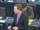 Nigel Farage- History Lesson For The EU 2010