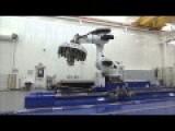 NASA Robot Spins A Web Of Carbon Fibers To Make Large Rocket Parts