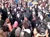 New York City FERGUSON FUCKTARDS Get Arrested And One Tries To Make A Run For It In A Crowded TIME SQUARE